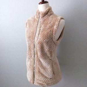 Calvin Klein Super Soft Plush Teddy Bear Vest Med